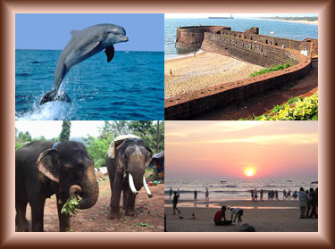 Visit Coco Beach Famous Aguada Fort Calangute Beach And Church Of